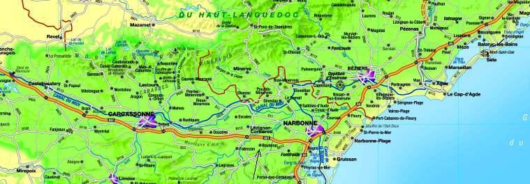 kart over sør frankrike Velkommen til Chateau Luftslott kart over sør frankrike